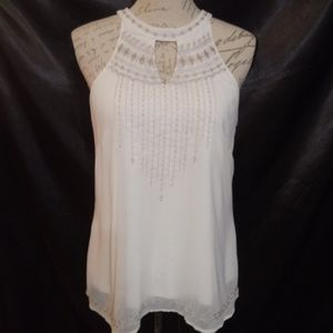 Maurice's Embroidered Chiffon top
